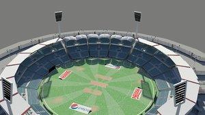cricket stadium 3D