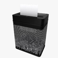 3D paper shredder