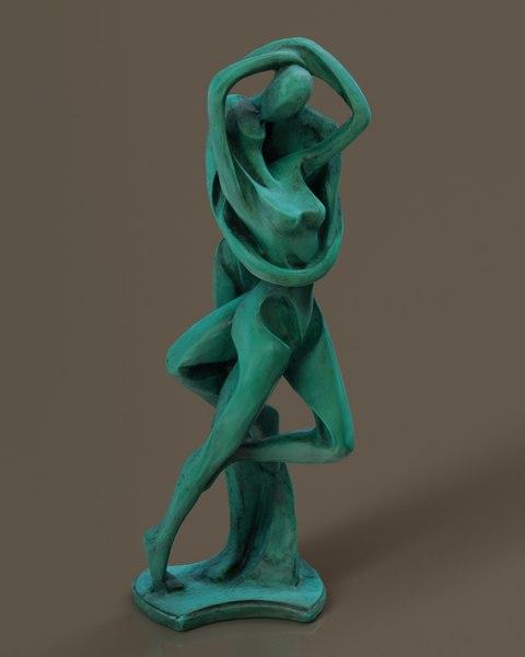 statue nepal model