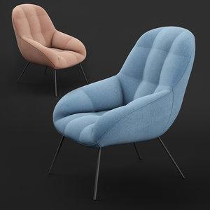 3D sunday lounge chair