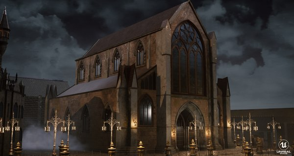 bloodborne church model