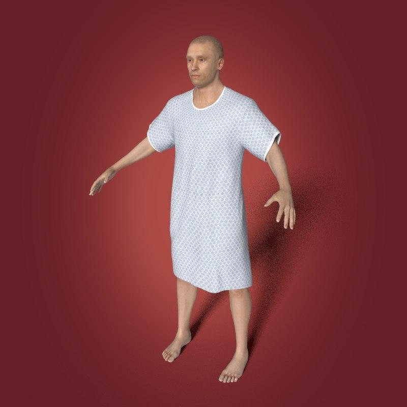 3D hospital patient