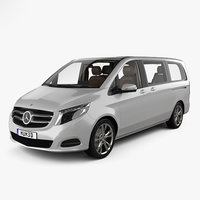 Mercedes-Benz V-class with HQ interior 2014