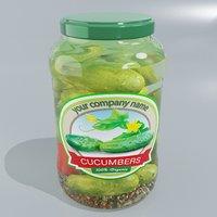 3D jar pickled model