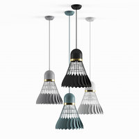 badminton lamp interior 3D
