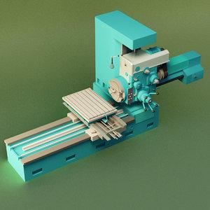 3D machine tool model