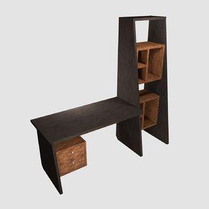 desk 2 3D model