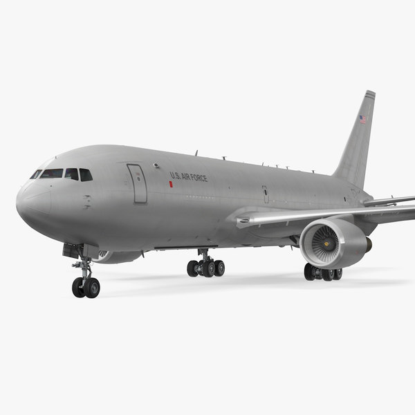 3D boeing kc46 pegasus military model