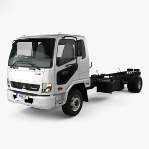 3D mitsubishi fuso fighter