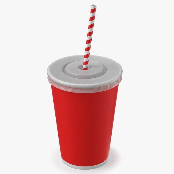 soda cup 3D model