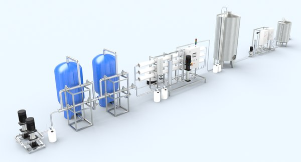 3D model reverse osmosis ro
