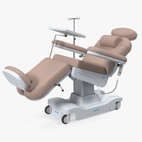 electronic chemotherapy chair therapy 3D