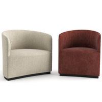 Tearoom Club Chair and Lounge Chair by MENU