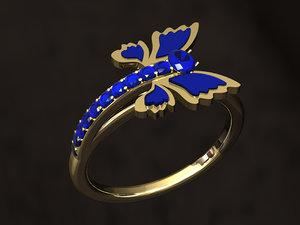 butterfly ring model