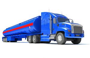 truck tank trailer model