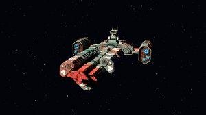 spaceship games scene model