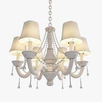 3D light stem chandelier traditional