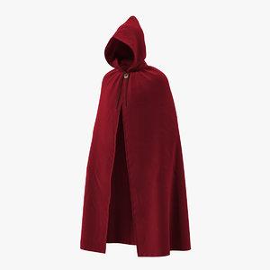 medieval cloak 3D model