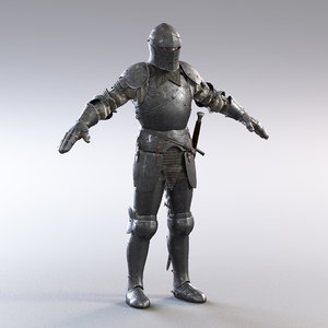 fullplate knight 3D model