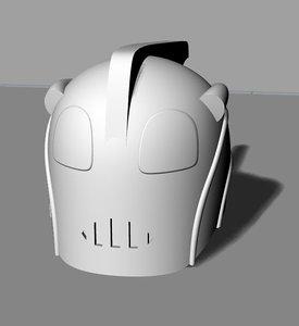 man rocket 3D model
