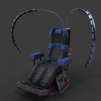 sci fi armchair model