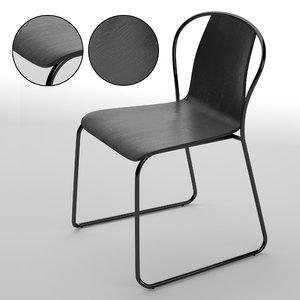 3D model fullerton chair