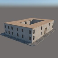 old structure 3D model