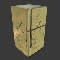 3D refrigerator pbr model