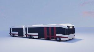 3D model metrobus bus