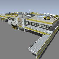 market supermarket 3d model