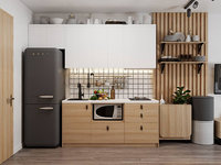 Small Apartment Scandinavian Design 3D Scene