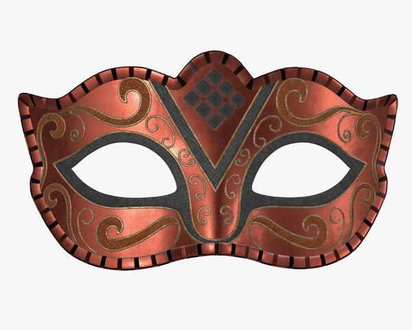 mask carnival 3D
