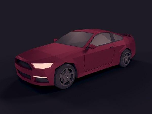 3D car ready model