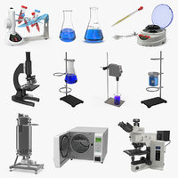 lab equipment 2 model