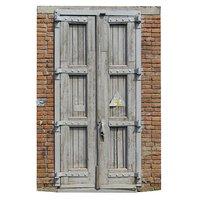 3D scan old door