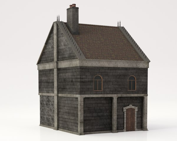 bloodborne church pbr 3D model