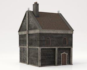 bloodborne church pbr 3D model