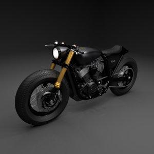 3D model motorcycle hd