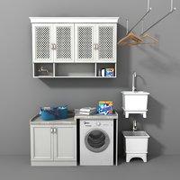 3D laundry model