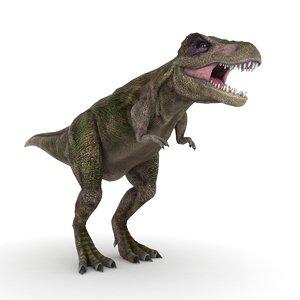 t-rex dinosaurus 3D model