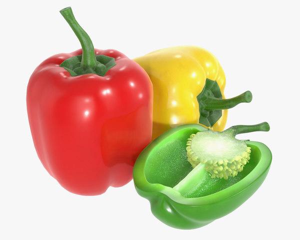 3D pepper bell