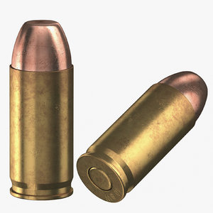 3D bullets 40 mm model