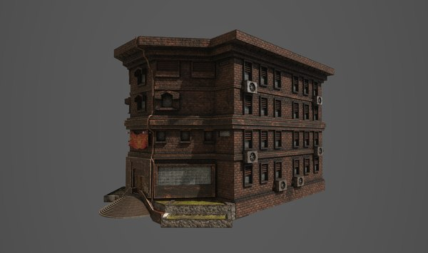 3D model university school