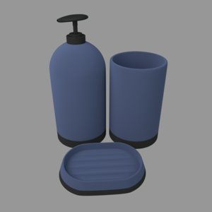 3D model soap dispenser