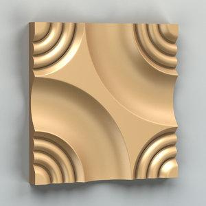 decorative wall panel model