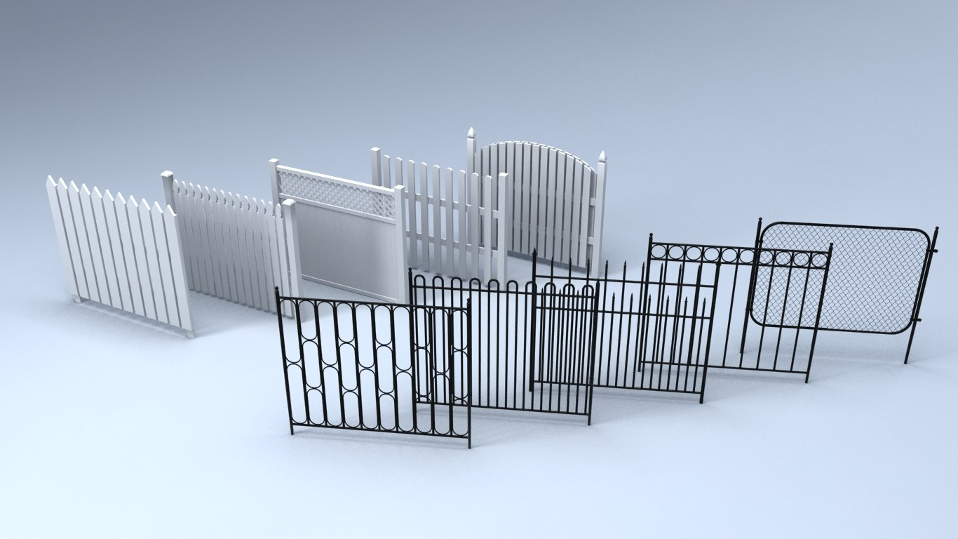 fences grid model