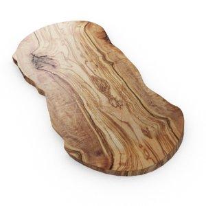 3D model chopping board wood