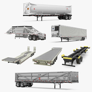 3D trailers 5 semi