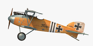 3D albatros d iii julius model