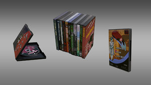dvd boxs model
